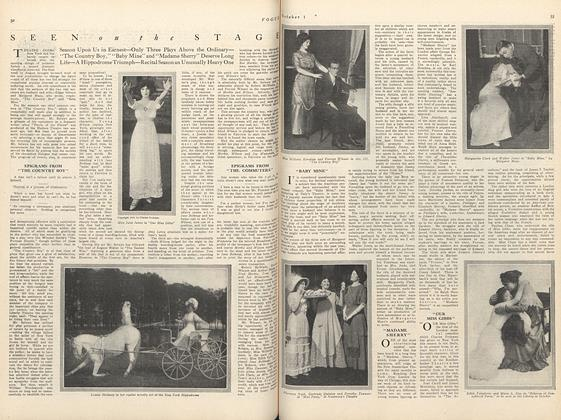 Article Preview: Seen on the Stage, October 1 1910 | Vogue