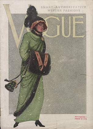 Cover for the November 1 1910 issue