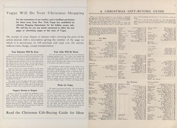 A Christmas Gift-Buying Guide