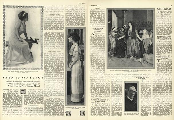 Seen on the Stage: Madame Bernhardt's Transcendant Portrayal...