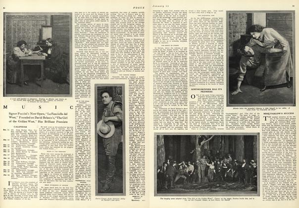 Music: Signor Puccini's New Opera...