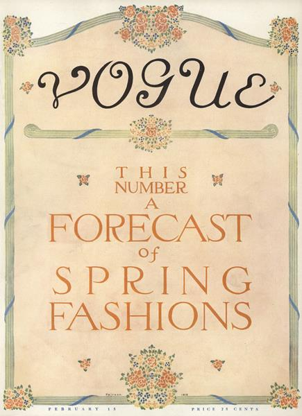 Issue: - February 15 1911 | Vogue