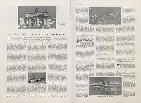 Article Preview: Malta: the Island of Romance, March 15 1911 | Vogue