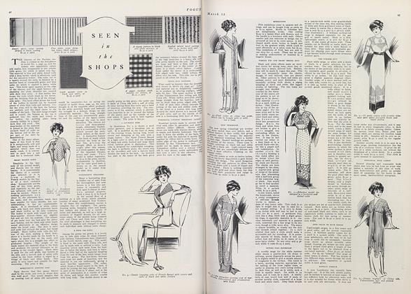 Article Preview: Seen in the Shops, March 15 1911 | Vogue