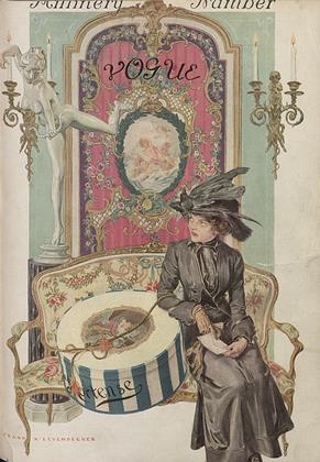 Cover for the April 1 1911 issue