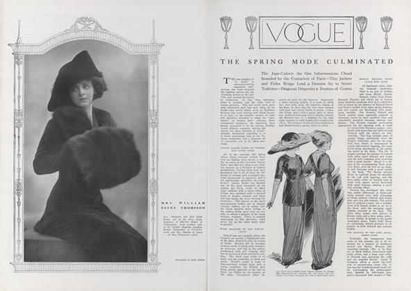 Article Preview: The Spring Mode Culminated, April 15 1911 | Vogue