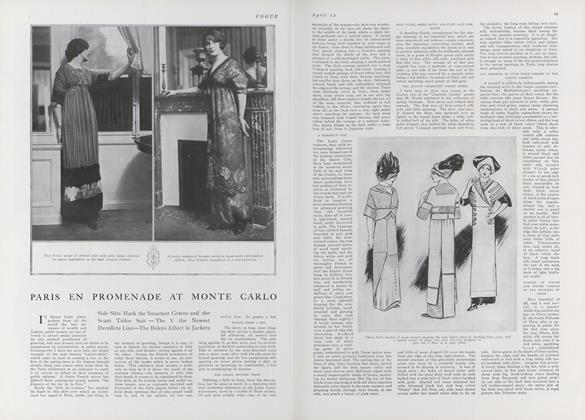 Article Preview: Paris en Promenade at Monte Carlo, April 15 1911 | Vogue