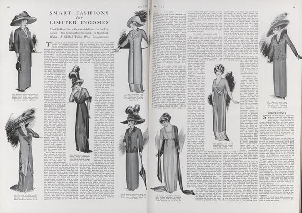 Article Preview: Smart Fashions for Limited Incomes, April 15 1911 | Vogue