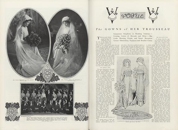Article Preview: The Gowns of Her Trousseau, May 1 1911 | Vogue