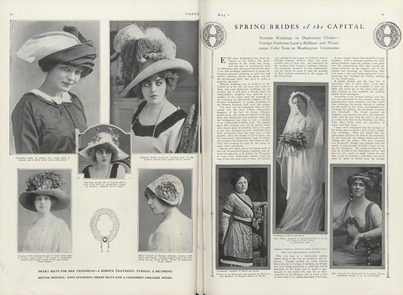 Article Preview: Spring Brides of the Capital, May 1 1911 | Vogue