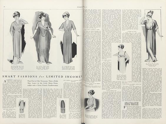 Article Preview: Smart Fashions for Limited Incomes, May 1 1911 | Vogue