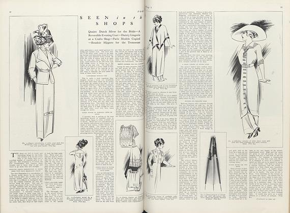 Article Preview: Seen in the Shops, May 1 1911 | Vogue