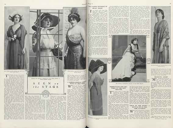 Article Preview: Seen on the Stage, May 1 1911 | Vogue