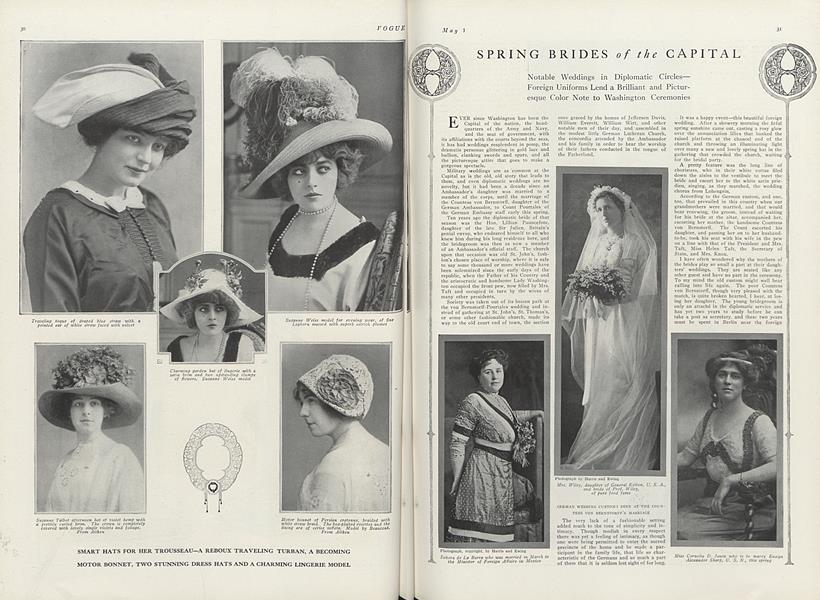 Spring Brides of the Capital