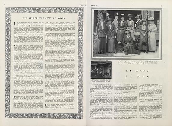 Article Preview: Big Sister Preventive Work, June 15 1911 | Vogue