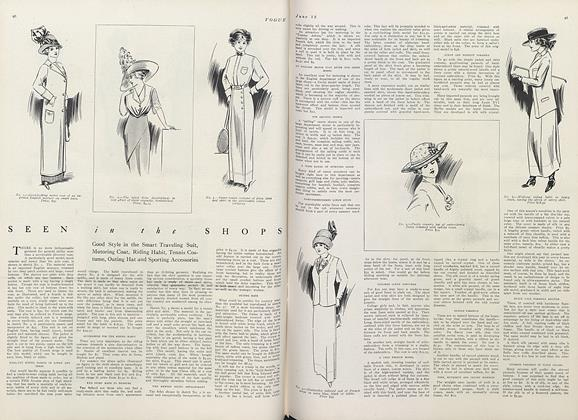 Article Preview: Seen in the Shops, June 15 1911 | Vogue