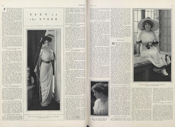 Article Preview: Seen on the Stage, June 15 1911 | Vogue