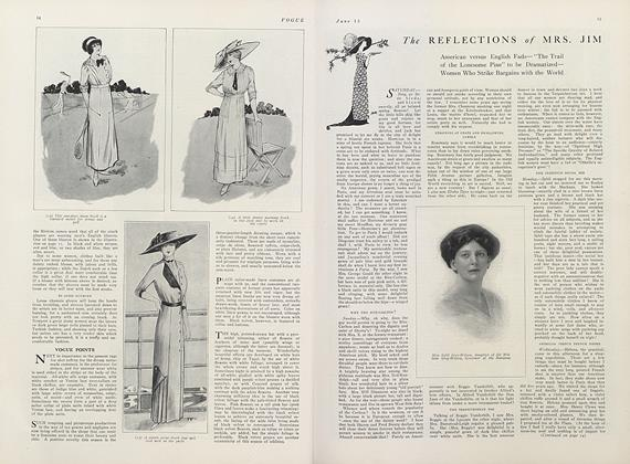 Article Preview: The Reflections of Mrs. Jim, June 15 1911 | Vogue