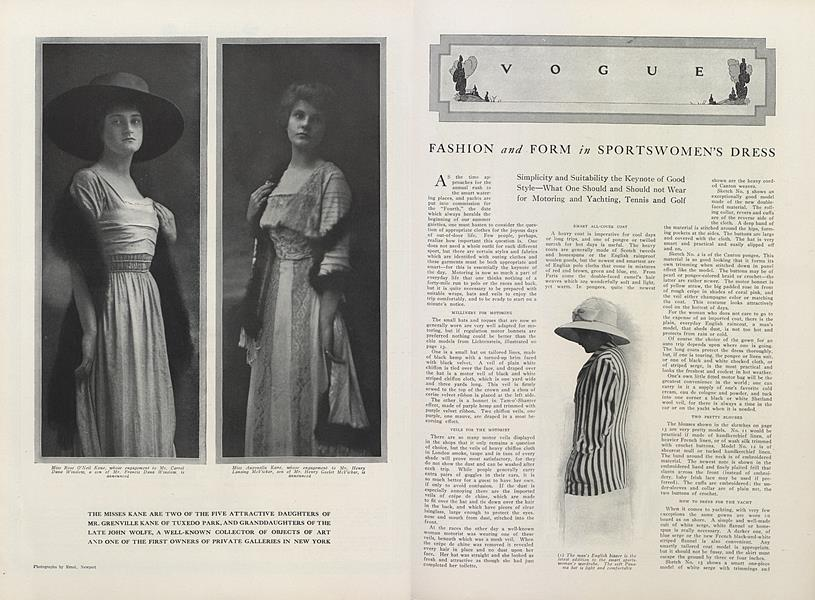 Fashion and Form in Sportswomen's Dress