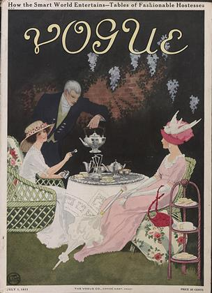 Cover for the July 1 1911 issue