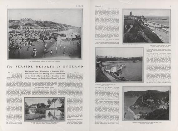 The Seaside Resorts of England