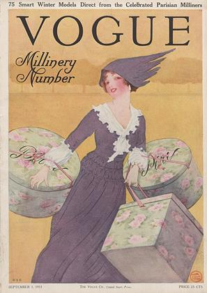 Cover for the September 1 1911 issue