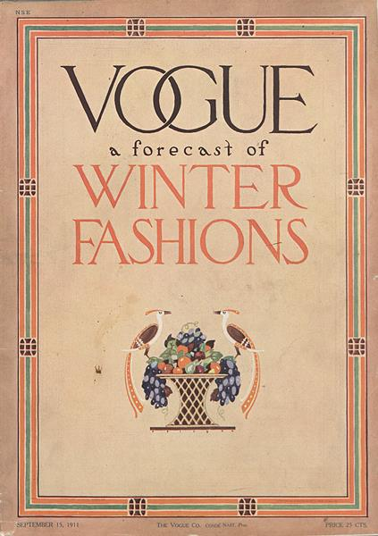 Issue: - September 15 1911 | Vogue