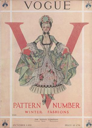 Cover for the October 1 1911 issue