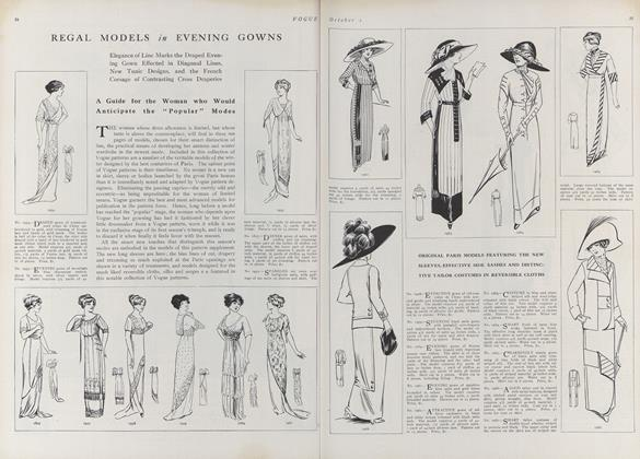 Vogue Pattern Catalogue Winter 1911
