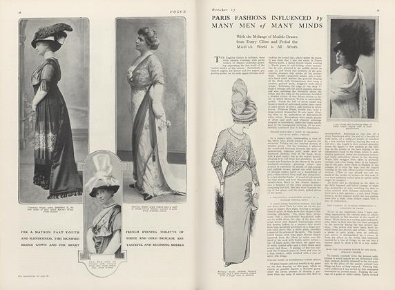 Paris Fashions Influenced by Many Men of Many Minds