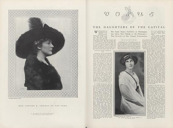 Article Preview: The Daughters of the Capital, December 15 1911 | Vogue