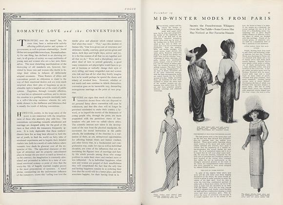Article Preview: Mid-Winter Modes from Paris, December 15 1911 | Vogue