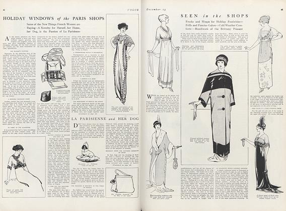 Article Preview: Seen in the Shops, December 15 1911 | Vogue