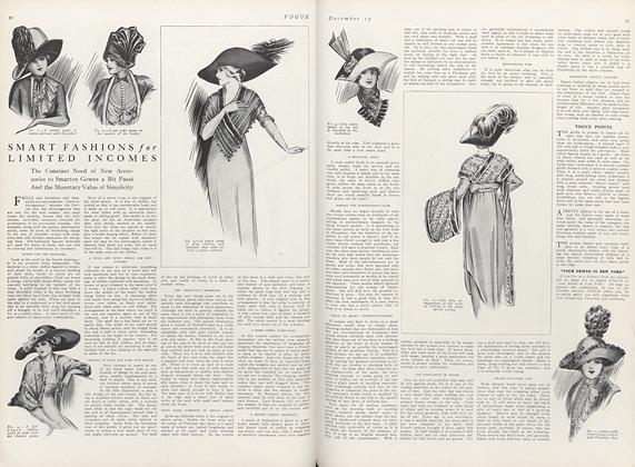 Article Preview: Smart Fashions for Limited Incomes, December 15 1911 | Vogue
