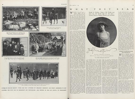Article Preview: What They Read, December 15 1911 | Vogue