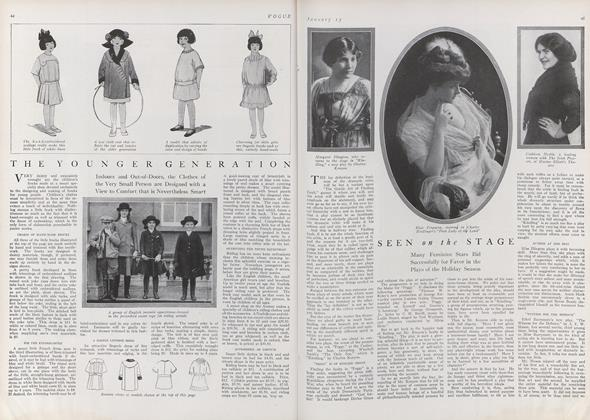 Article Preview: Seen on the Stage, January 15 1912 | Vogue
