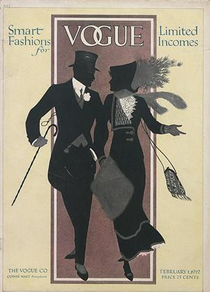 Cover for the February 1 1912 issue
