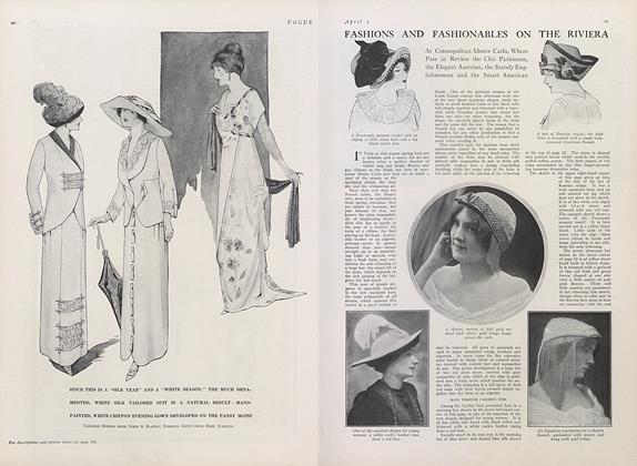 Fashions and Fashionables on the Riviera