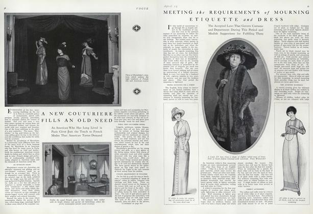 Meeting the Requirements of Mourning Etiquette and Dress
