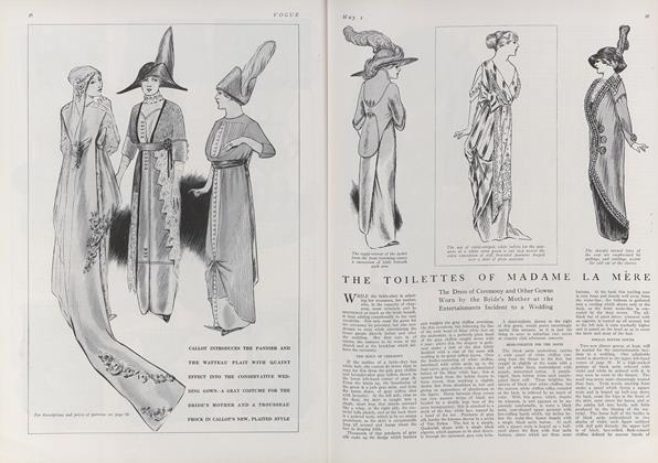 The Toilettes of Madame La Mere
