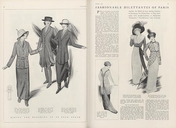 Fashionable Dilettantes of Paris