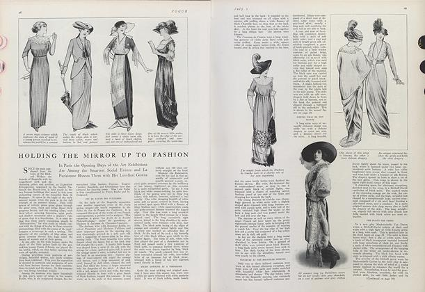 Article Preview: Holding the Mirror Up to Fashion, July 1 1912 | Vogue