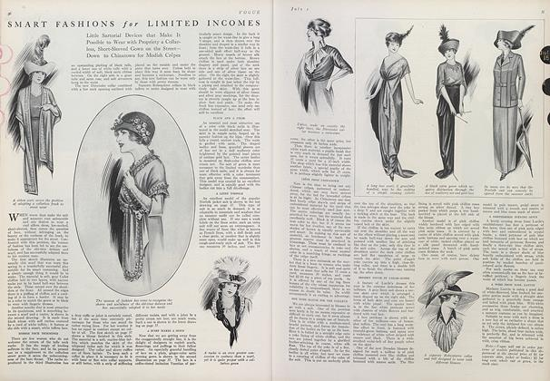 Article Preview: Smart Fashions for Limited Incomes, July 1 1912 | Vogue