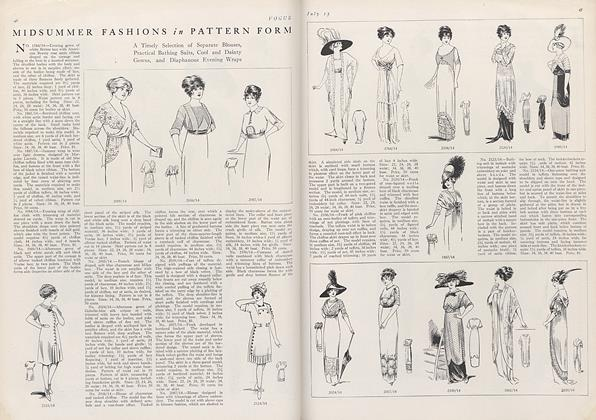 Midsummer Fashions in Pattern Form