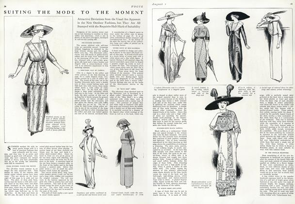 Article Preview: Suiting the Mode to the Moment, August 1 1912 | Vogue