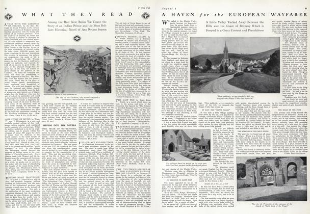 Article Preview: What They Read, August 1 1912 | Vogue