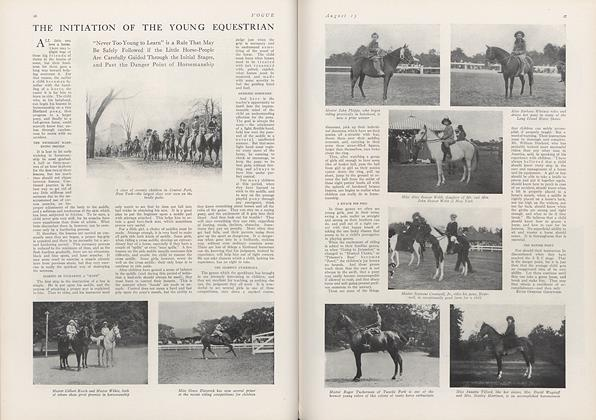 The Initiation of the Young Equestrian