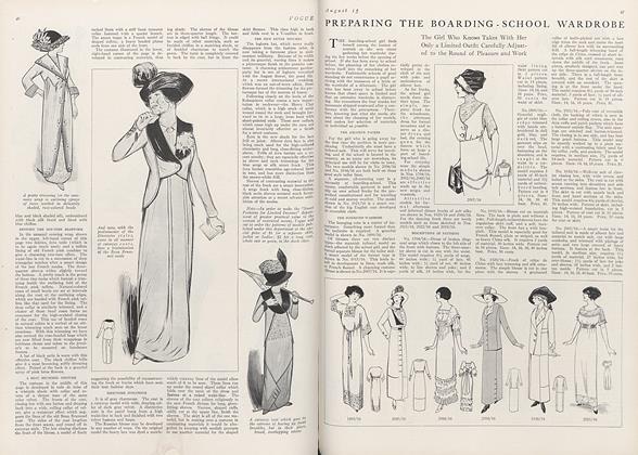 Preparing the Boarding-School Wardrobe