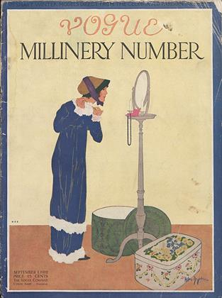 Cover for the September 1 1912 issue