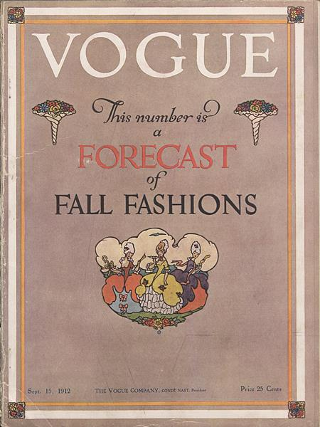 Issue: - September 15 1912 | Vogue